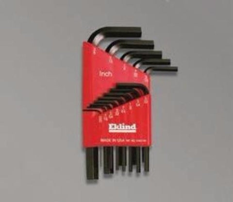 L-Key Set, Short Arm - 15 Pcs. In Pouch-Wright Tools