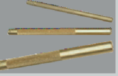 3 Pc. Knurled Brass Drift Punch-Wright Tools