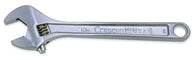 "Adjustable Wrench 6"", 10"", 12"" Chrome-Crescent"
