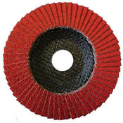 "4-1/2"" Type 29 Standard Flap Disc - Ceramic 7/8"" Arbor - Per Box-Continental Abrasives"
