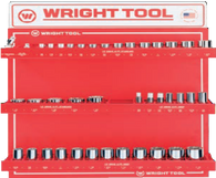 "40 Pc. 1/2"" Dr. 12 Pt. Standard and Deep Sockets-Wright Tools"