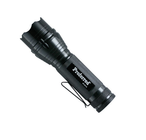 250 Lumen Flashlight (batteries included)-Proferred Tools