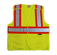 XL-2 Pocket Reflective Vest - Breakaway-Proferred Tools
