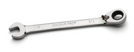 Reversible Ratcheting Combination Wrench-Full Polish-Cougar Pro