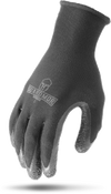 G15PCL-KM - CRINKLE LATEX PALM Black 13g Polyester Knit Glove with Latex Palm-Guardmor
