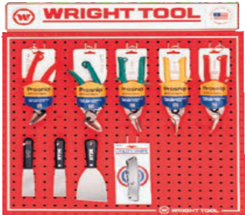 9 Pc. Snips and Scrappers-Wright Tools