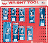 9 Pc. Cutting, Linesman & Slip Joint Pliers-Wright Tools