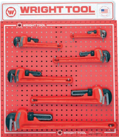 6 Pc. Pipe Wrenches-Wright Tools