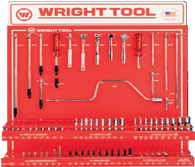 "79 Pc. 1/4"" Dr. 6 & 12 Pt. Sockets, Handles & Attachments-Wright Tools"