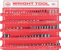 "91 Pc. 3/8"" Dr. Hand Sockets-Wright Tools"