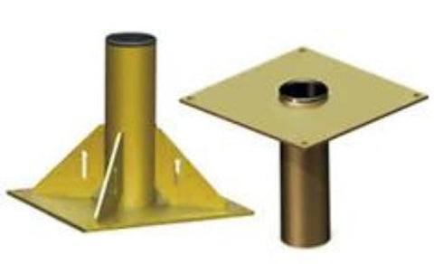 Base for 1000 lb Steel Davit Crane-OZ Lifting