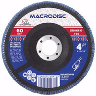 "4-1/2"" Type 29 High Density Flap Disc - Zirconia - Per Box-Continental Abrasives"