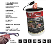 Hand and Tool Wipes - single can-Proferred Tools