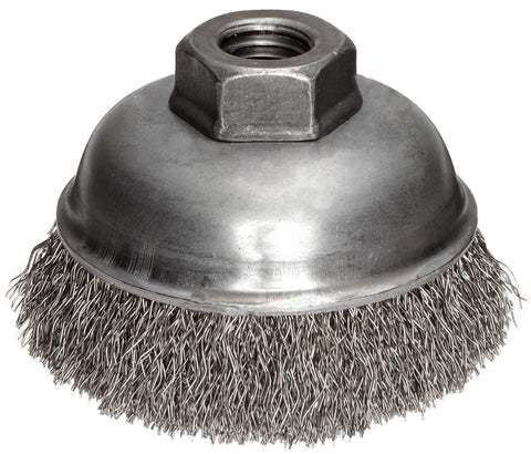 Crimped Wire-Wire Wheel Cup Brush-Continental Abrasives