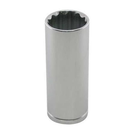 "1/2"" Drive Metric 12 Point Deep Socket-Cougar Pro"