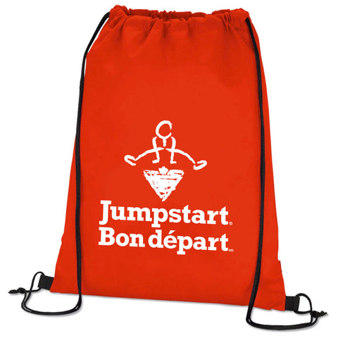 CTC Jumpstart Red Cinch Bag