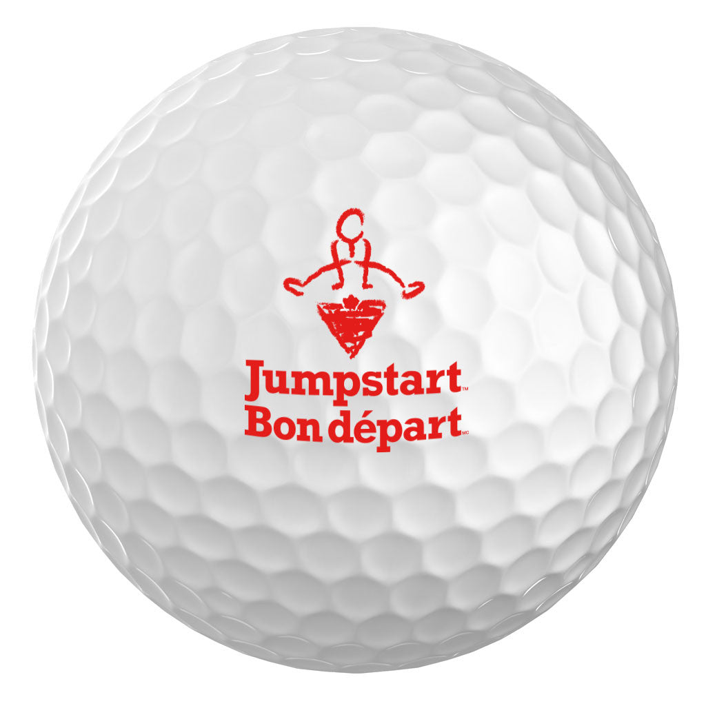 CTC Jumpstart White 3pk. Golf Balls - Bilingual