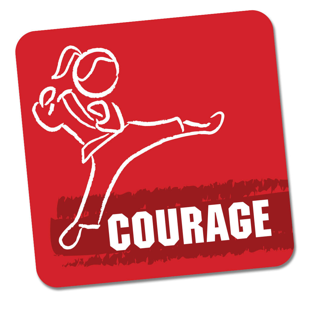 CTC Jumpstart Sticker - Courage