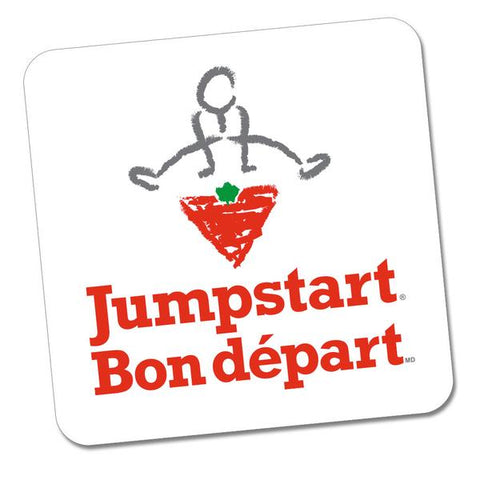 CTC Jumpstart Sticker - Jumpstart (bilingual) - WHITE