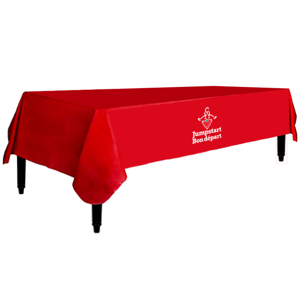 CTC Jumpstart Red Table Cloth