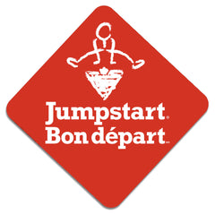 CTC Jumpstart Sticker - Jumpstart (bilingual) - RED