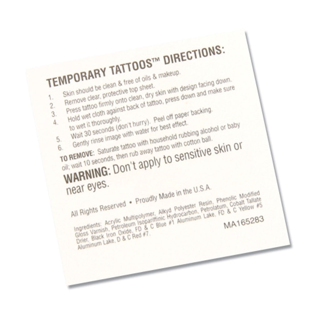 CTC Jumpstart Temporary Tattoo - Gymnastics