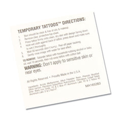 CTC Jumpstart Temporary Tattoo - Football