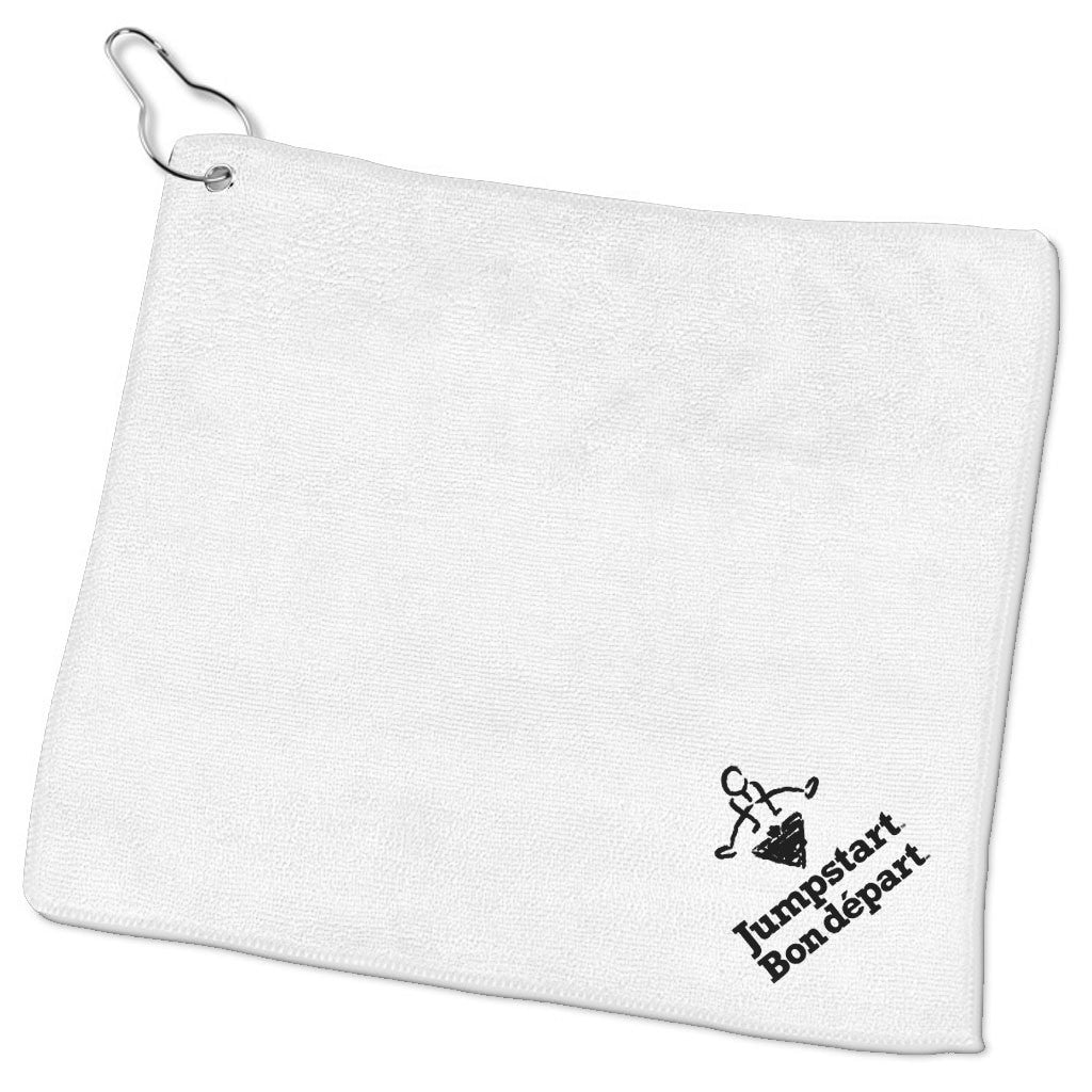 CTC Jumpstart White Golf Towel