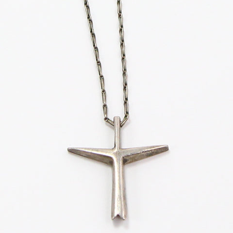 SCANDINAVIAN MODERNIST CROSS NECKLACE-Necklaces-BRETHREN + SISTREN