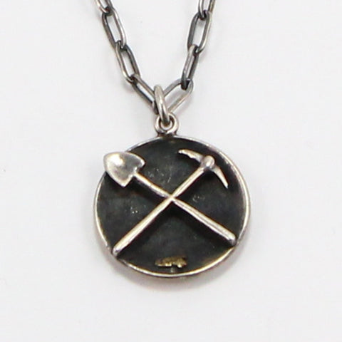 MINER NECKLACE-Necklaces-BRETHREN + SISTREN