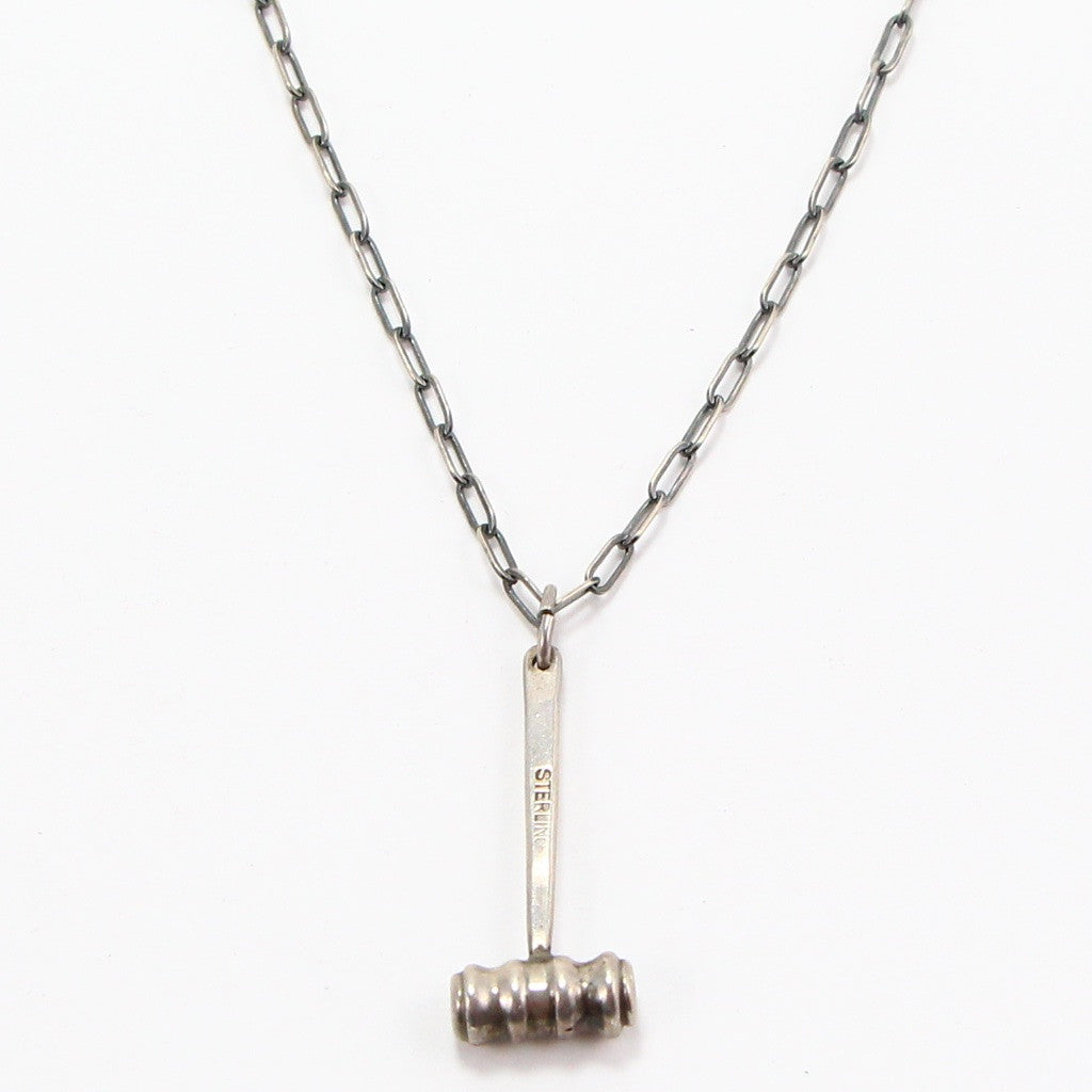 GAVEL NECKLACE-Necklaces-BRETHREN + SISTREN