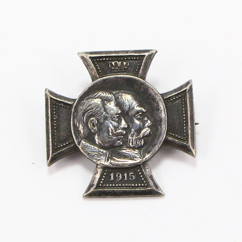 1915 GERMAN WWI PIN-Pins-BRETHREN + SISTREN