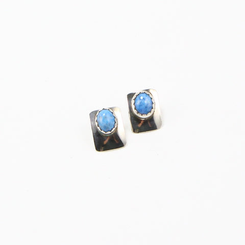 NAVAJO LAPIS EARRINGS-Earrings-BRETHREN + SISTREN