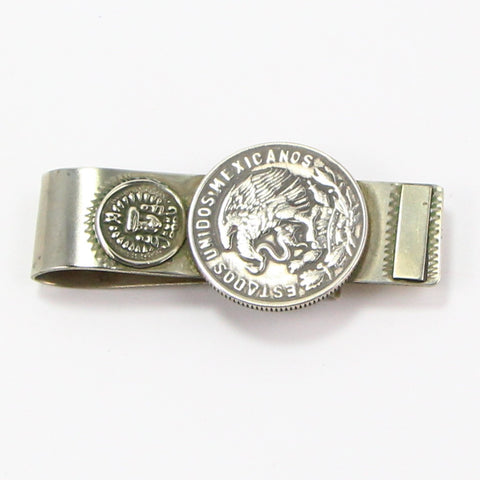 MEXICAN CINCUENTA CENTAVOS MONEY CLIP-Accessories-BRETHREN + SISTREN