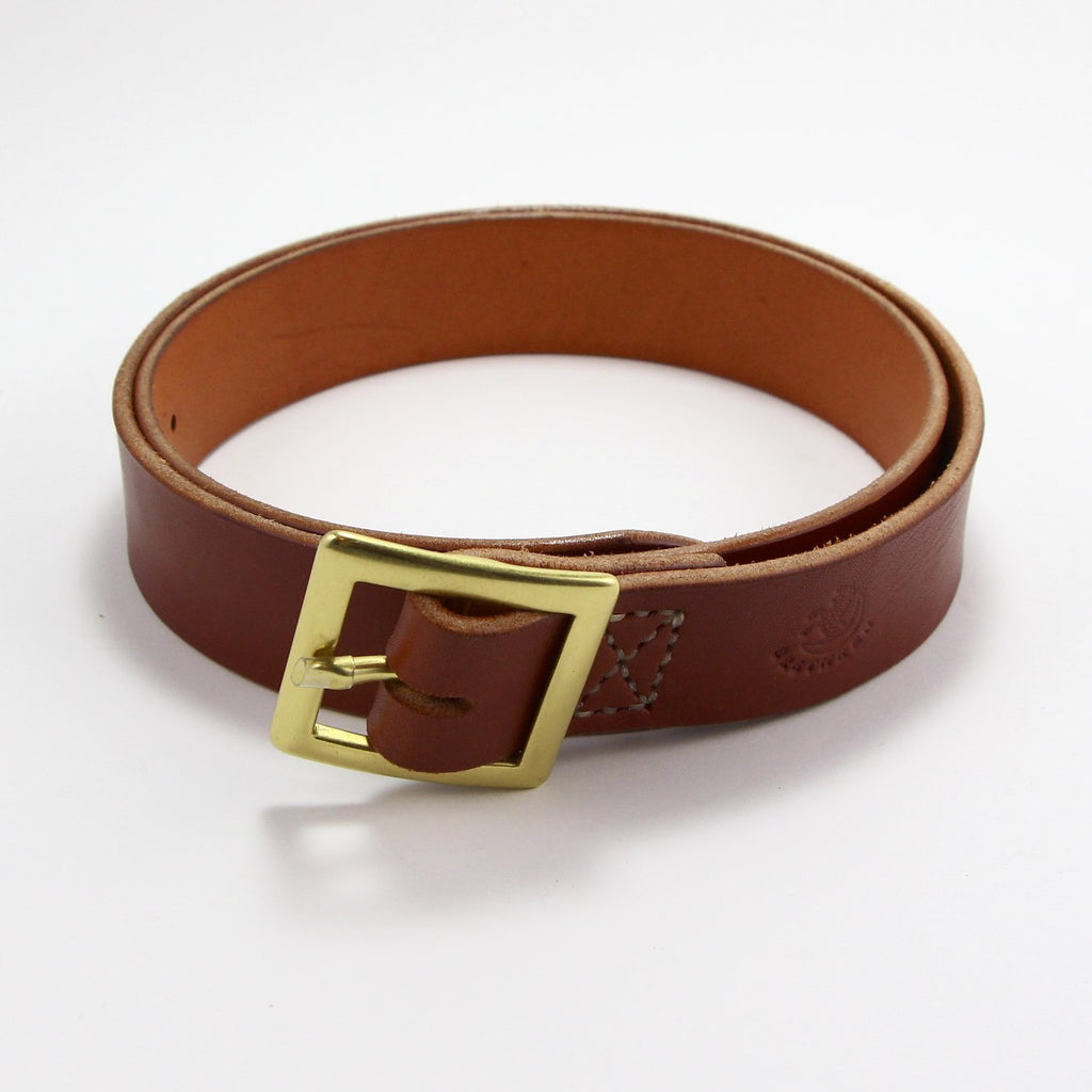 BRETHREN BELT CHESTNUT-Leather-BRETHREN + SISTREN