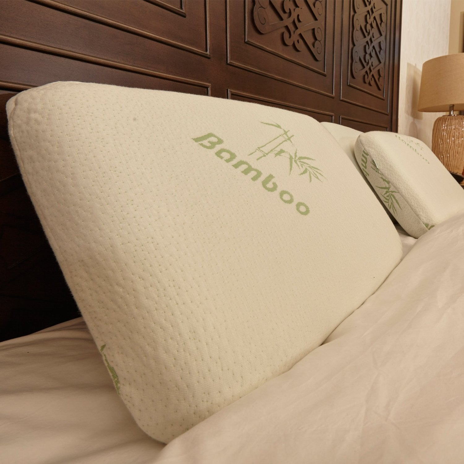 king size premium orthopedic bamboo memory foam pillow
