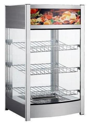 BakeMax Hot Food Display Case