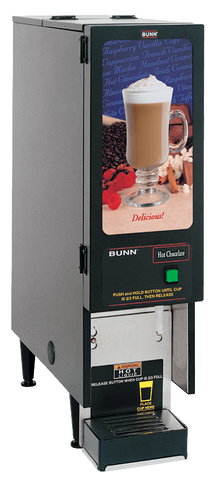 Bunn Cappuccino / Hot Chocolate Dispenser