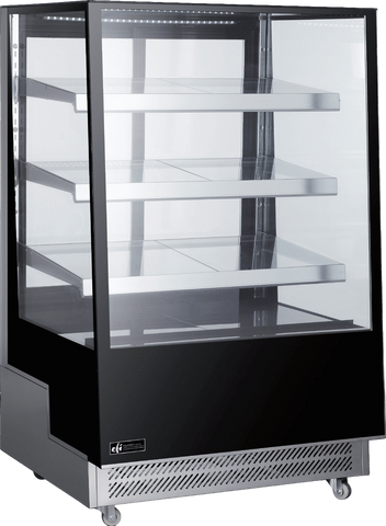 "EFI CGCM-3557 - 35.4"" Floor Model Refrigerated Display Case - 17 Cu. Ft."
