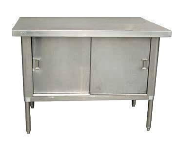 EFI Work Table with Cabinet