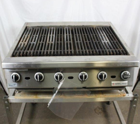 Garland - Natural Gas Charbroiler (Reconditioned)