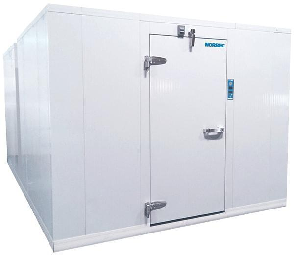 Norbec 8 X 8 Walk In Freezer With Top Mounted
