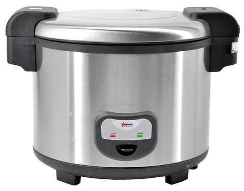 Omcan Commercial Rice Cooker, Rice Warmer, and Sushi Rice Container