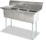 Omcan 3 Compartment Sink