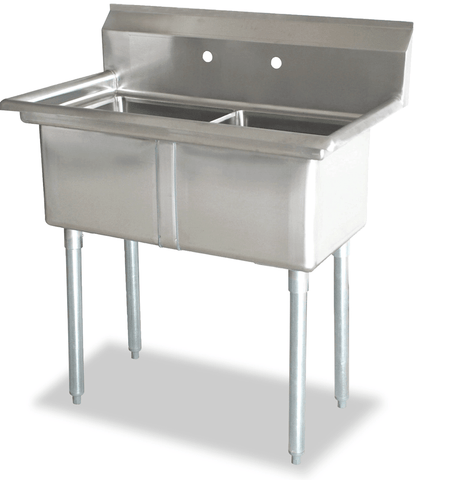 Omcan 2 Compartment Sink