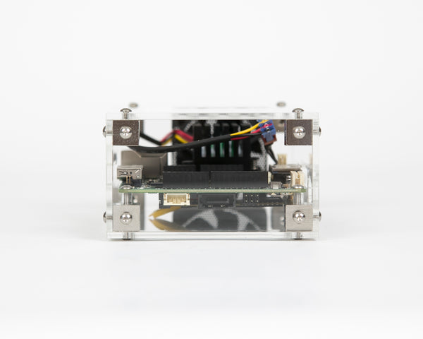 Clear acrylic UDOO x86 maker board case