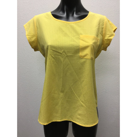Ann Taylor Yellow Blouse Small
