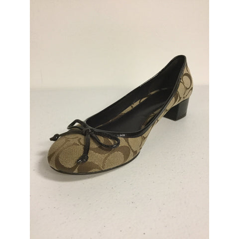 Coach Brown Pumps Size 8.5