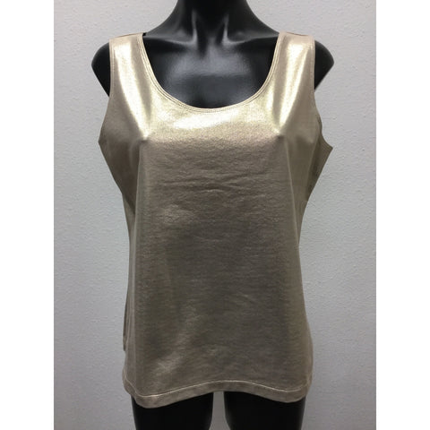 Chico's Gold Tank Large