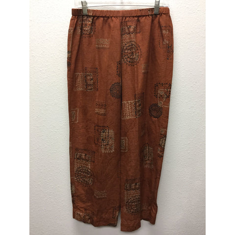 Chico's Rust Capris Medium
